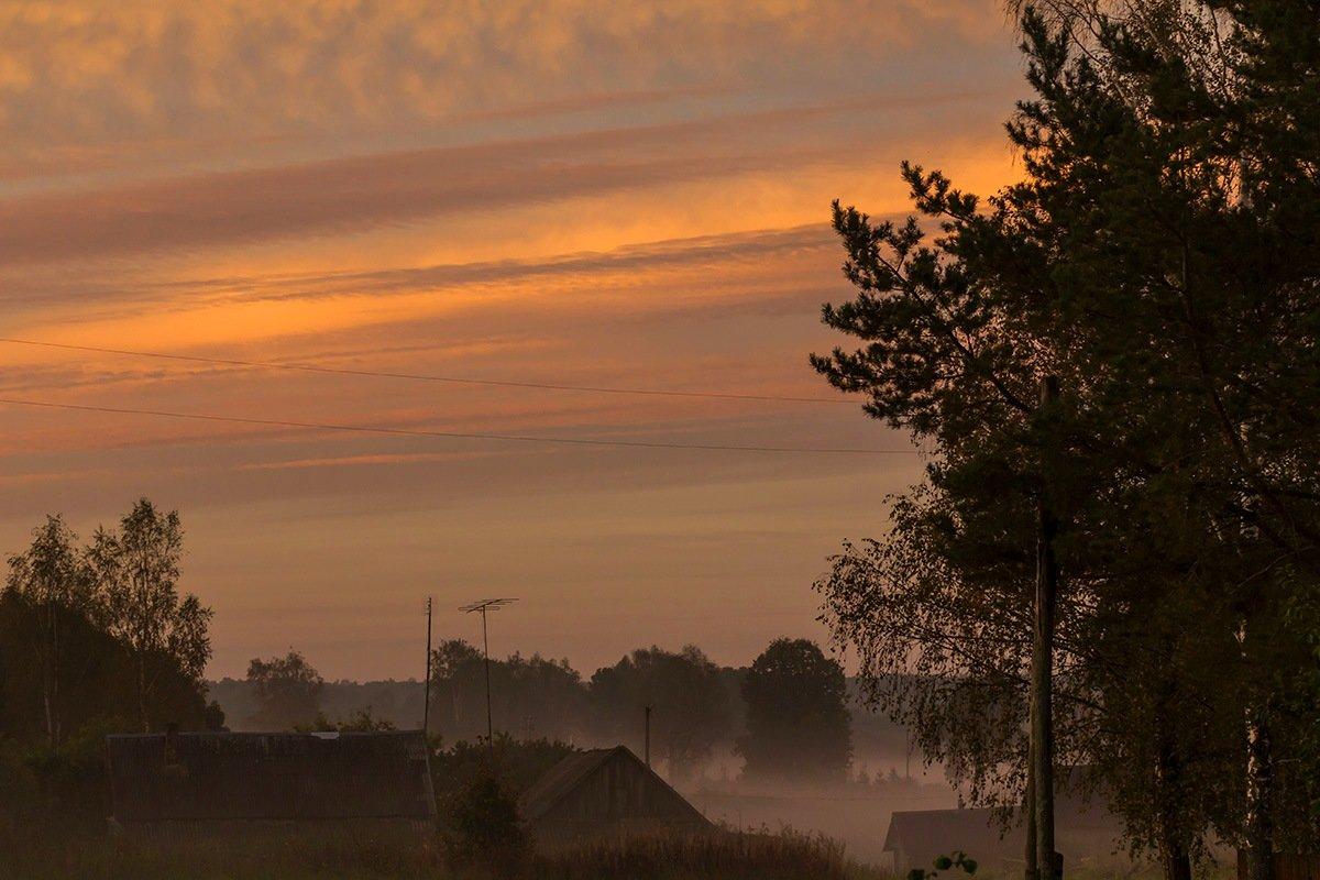 Утро  в деревне - Александр