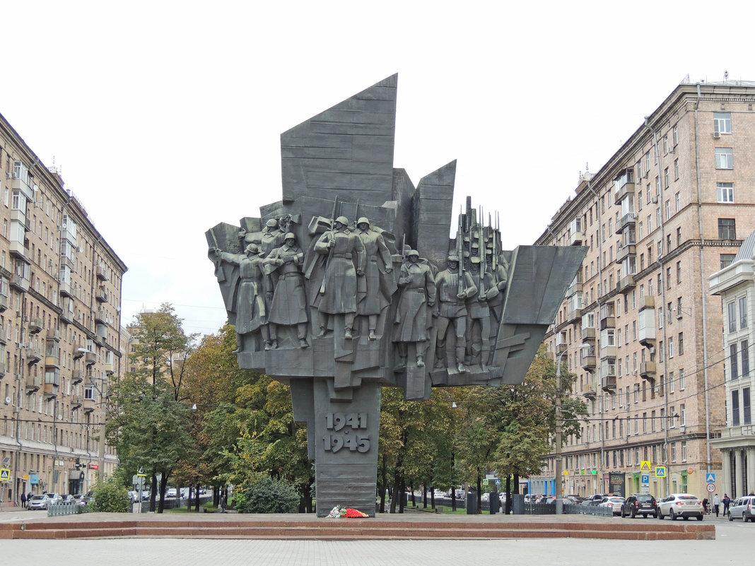 Памятник Ополченцам Пролетарского района - Александр Качалин