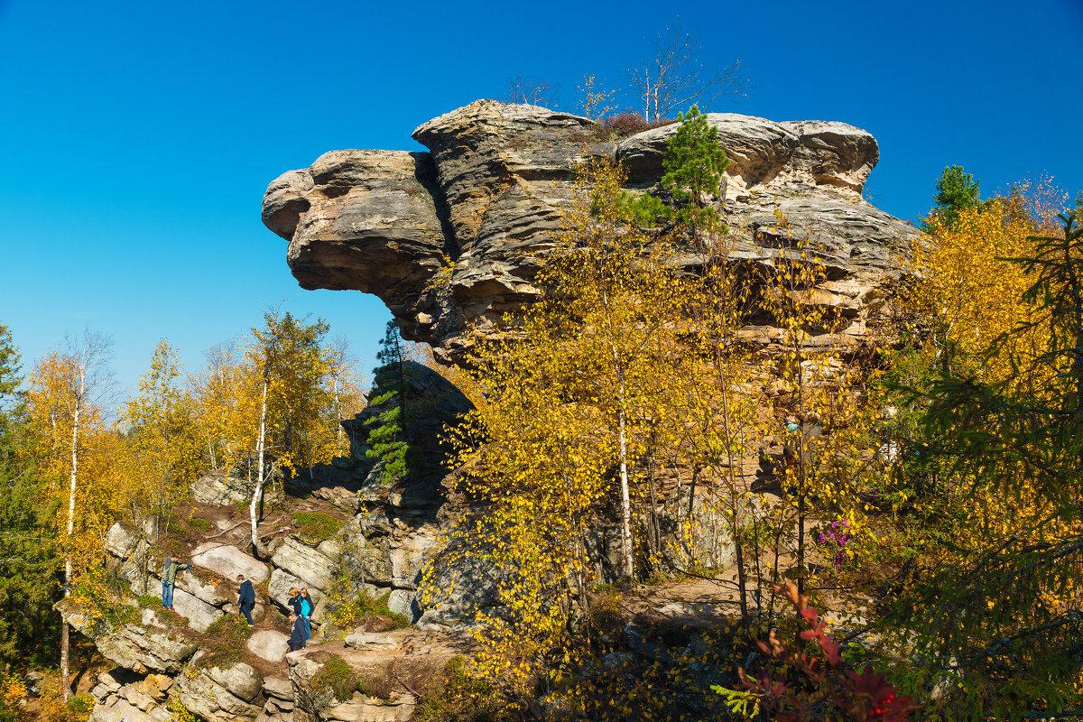 Ландшафтный памятник природы Каменный город - Александр Лядов