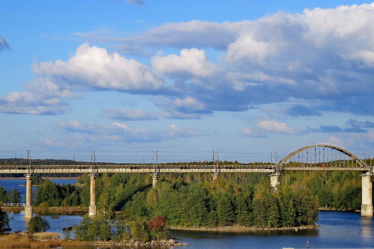 Ж/мост в Финляндию - Светлана