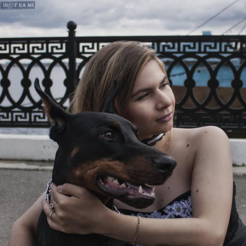С четвероногим другом - Anton Shumaev
