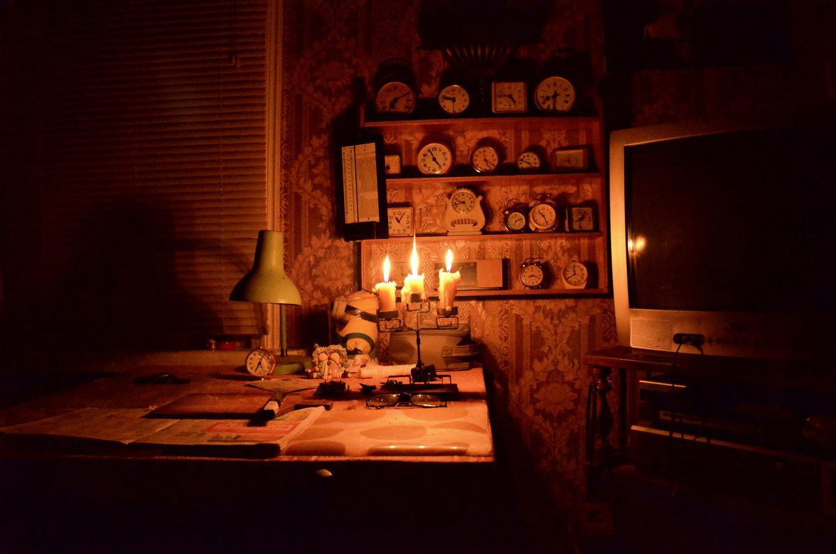 """""""Свеча горела на столе, свеча горела..."""" - Михаил Болдырев"""