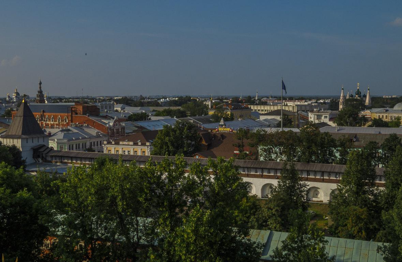 Крыши и купола Ярославля - Сергей Цветков
