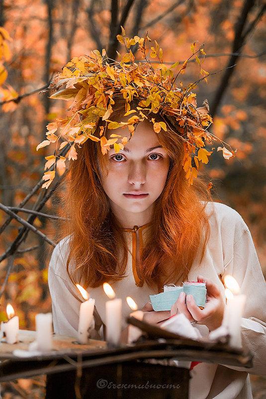 Колдунья-осень - Фотостудия Объективность