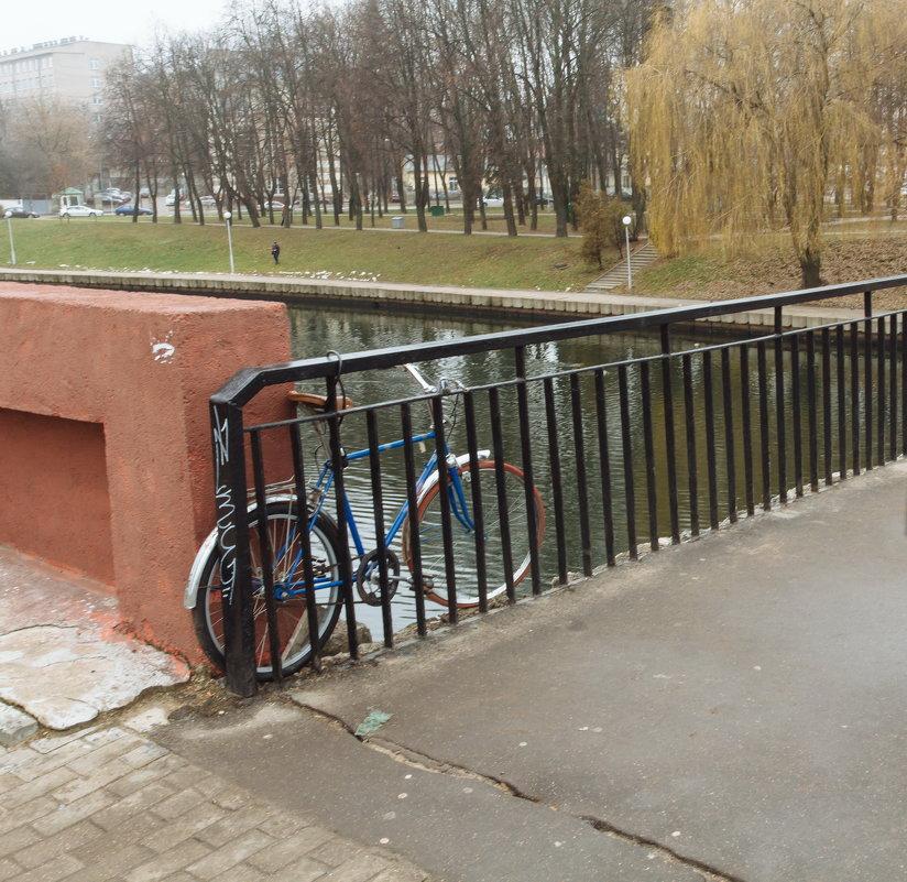 Парковка велосипеда - Николай Н