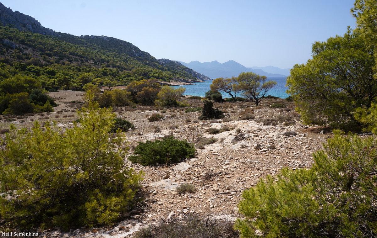 На острове Мони (Греция). - Нелли Семенкина