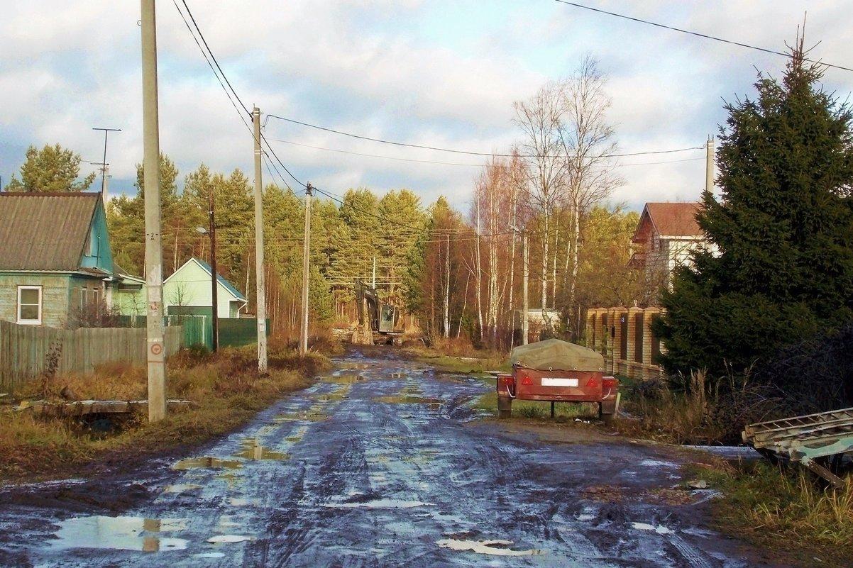Дорога домой-3. Вот мы и приехали.... - Фотогруппа Весна.