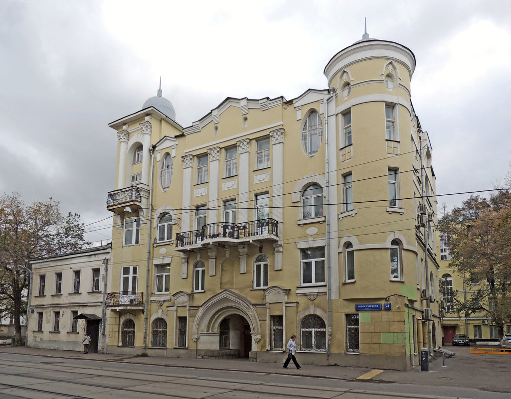 Доходный дом Энгельбрехта - Александр Качалин