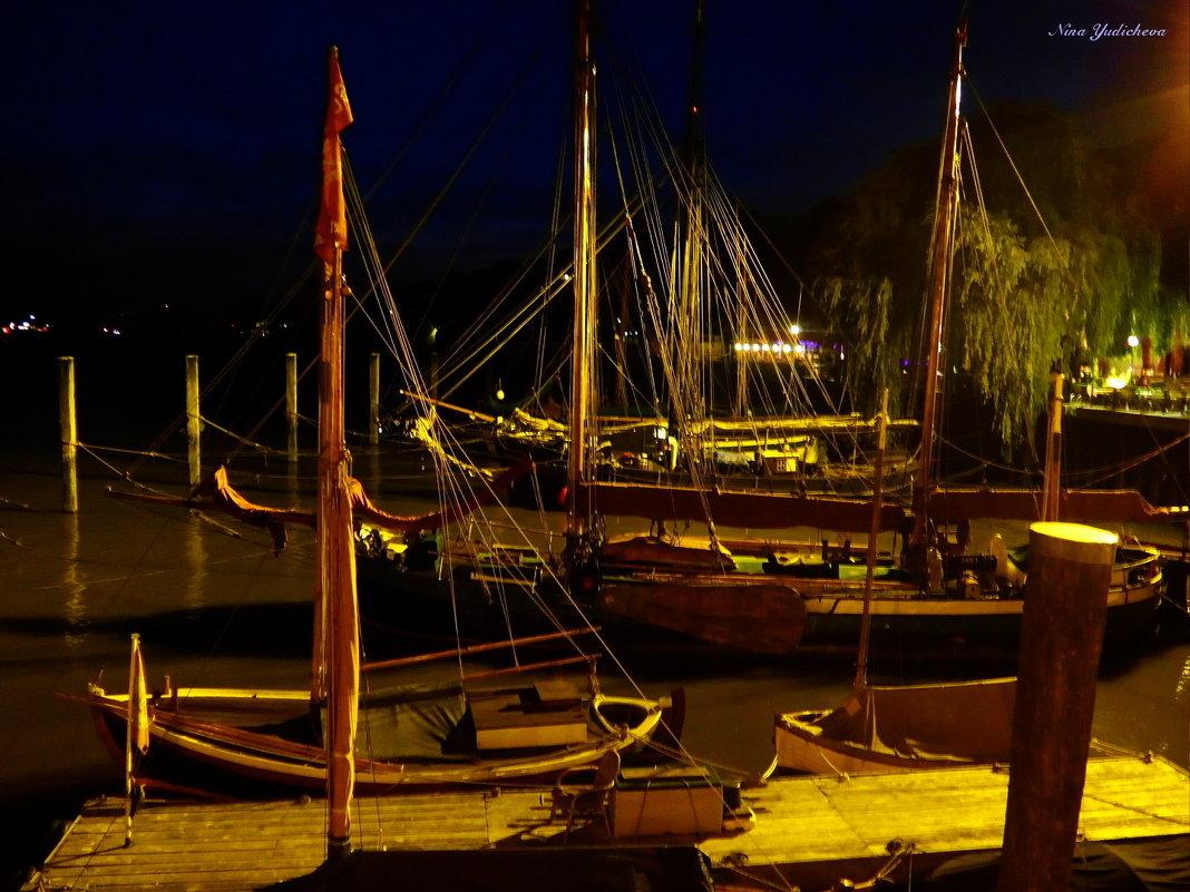 Segelschiffe. Hamburg - Nina Yudicheva