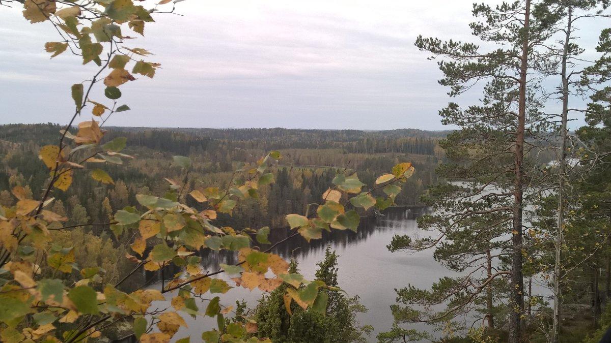 На горе Хауккавуори. Финляндия - Марина Домосилецкая