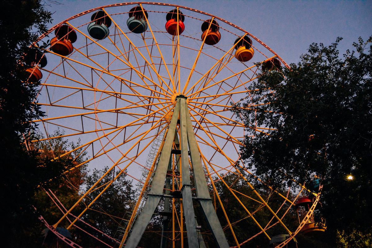 колесо обозрения в парке - Света Кондрашова