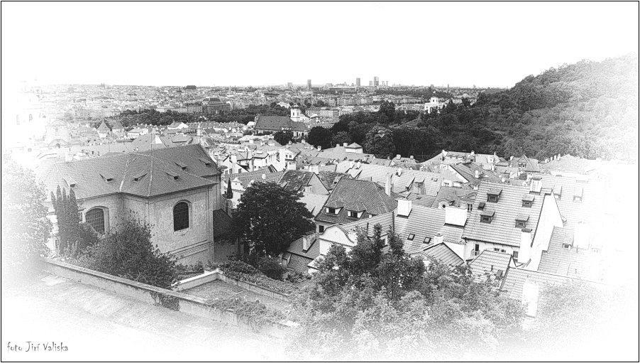 Крыши Мала Страна (в Праге) - Jiří Valiska