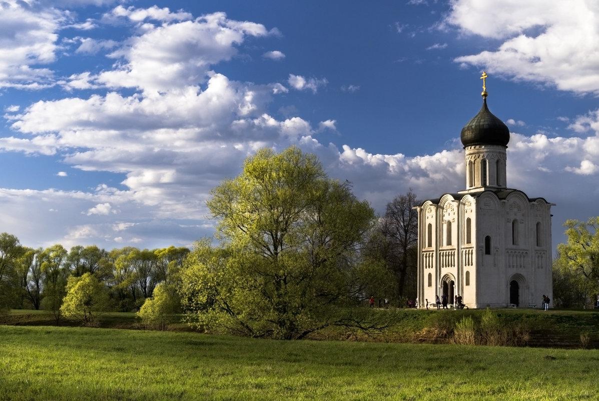 Весенний закат в Боголюбово. - Александр Ковальчук