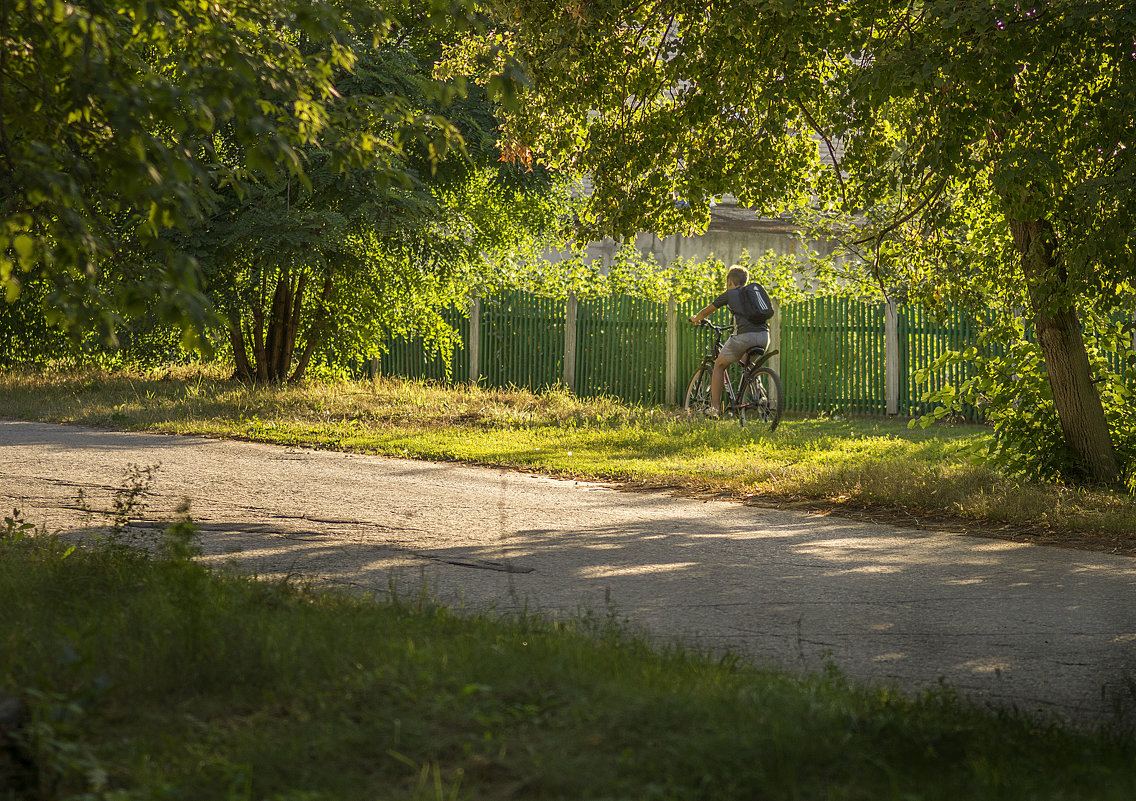 Велосипедист - Вера Сафонова