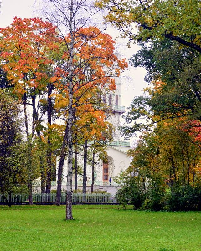 В парке осенью   /9/   Белая башня - Сергей