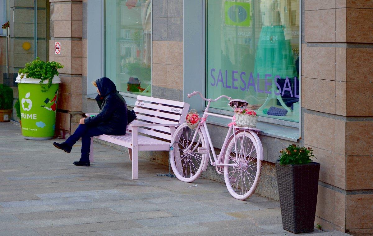 Розовый велосипед. - Oleg4618 Шутченко