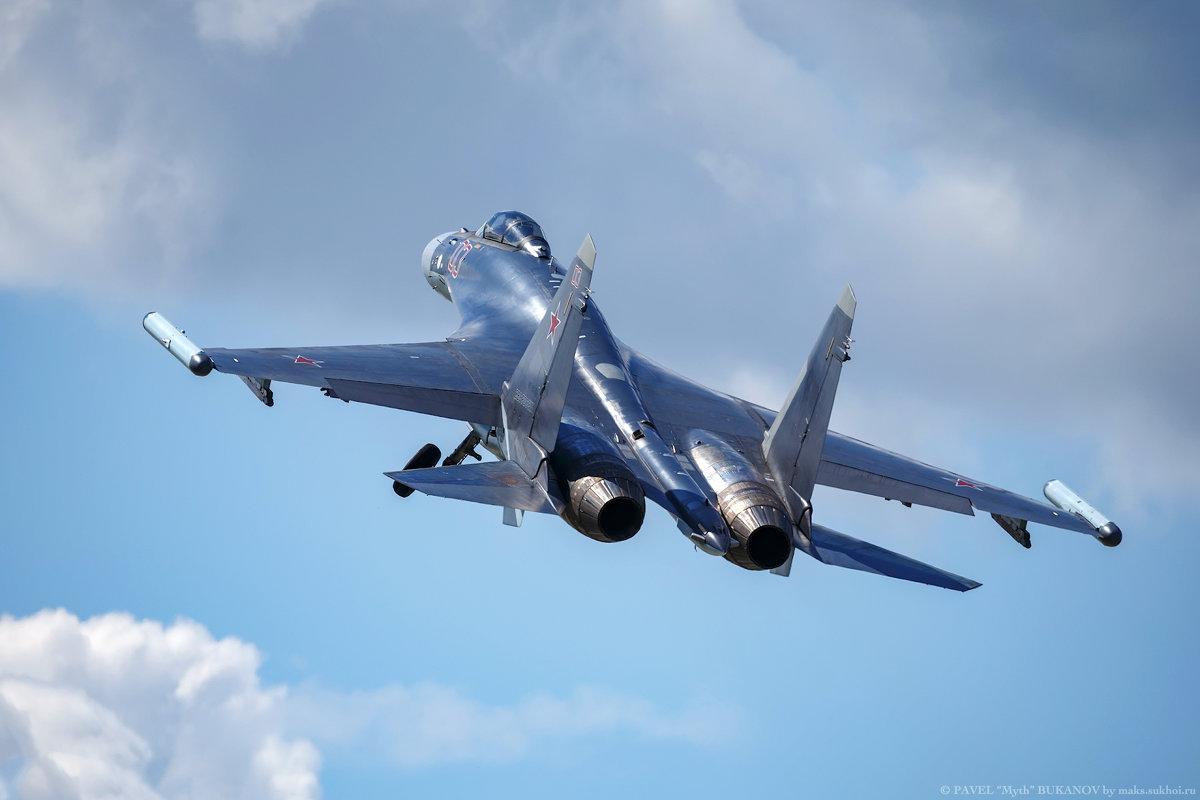Су-35С безфорсажный взлет - Павел Myth Буканов