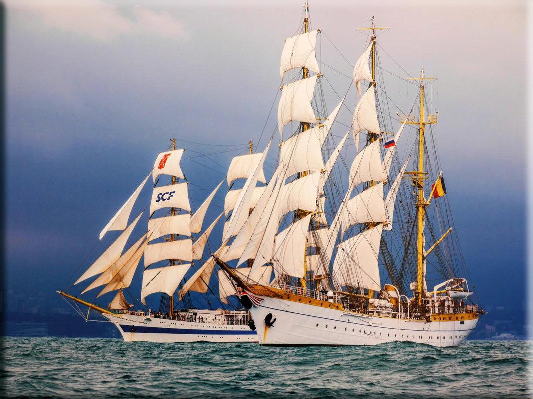 Международная черноморская регата больших парусных судов. - СветЛана D