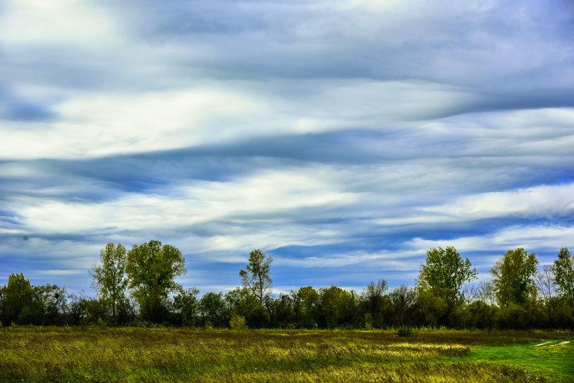 Осеннее небо - юрий Амосов