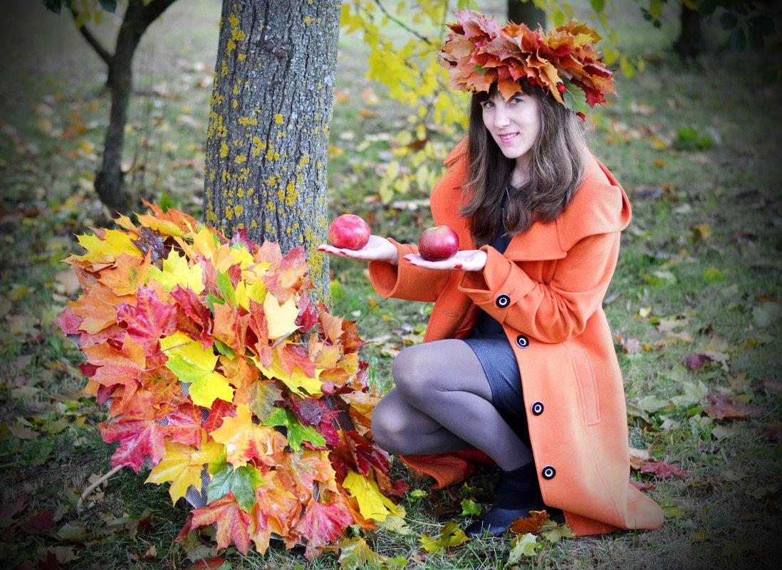 Осень на ладонях ... - Марина Романова