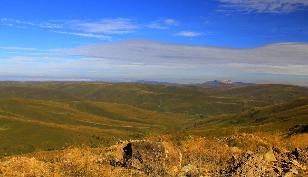 Осеннее утро на плато Бийчесын. - Vladimir 070549