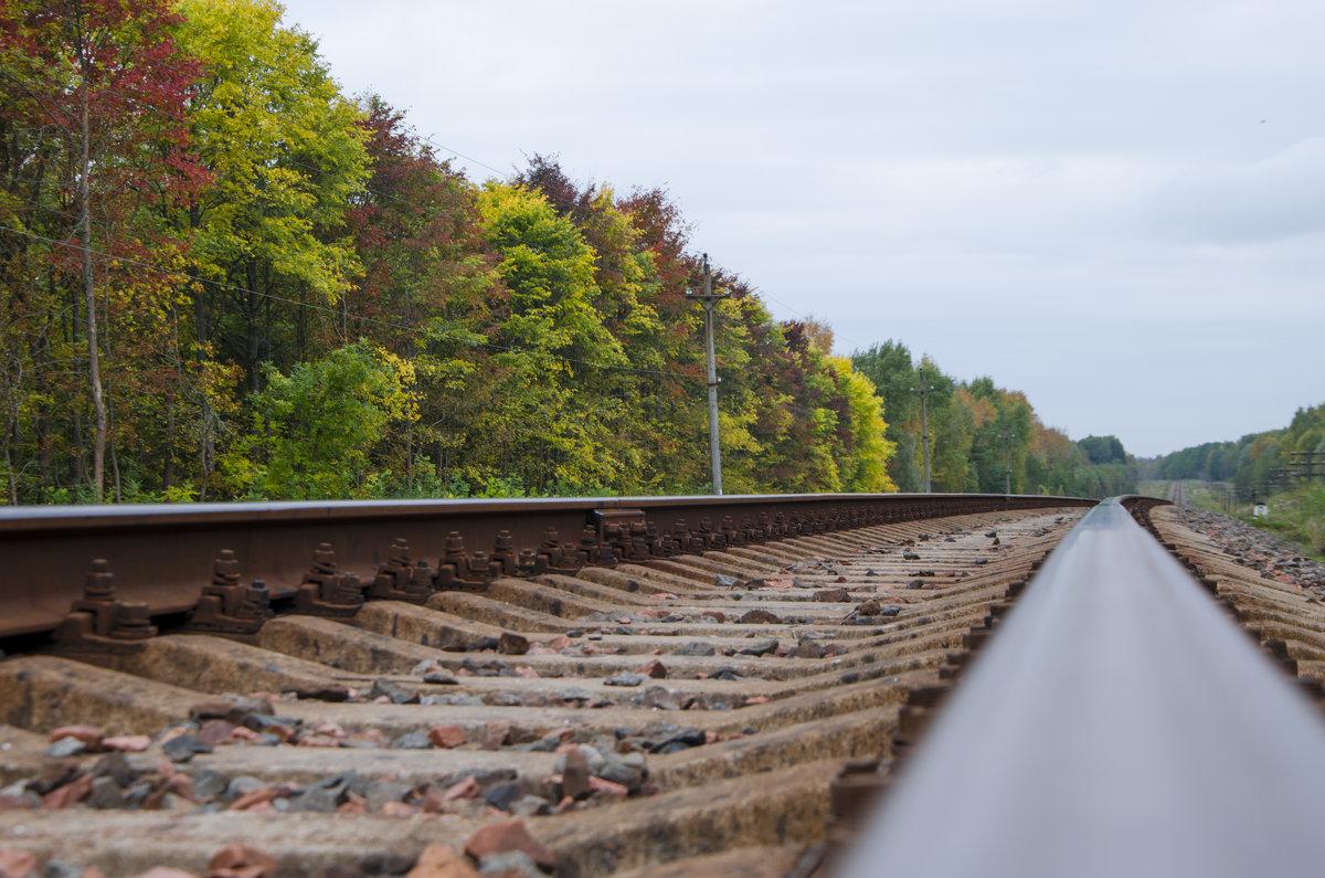 Железная дорога осенью - Денис Samuila