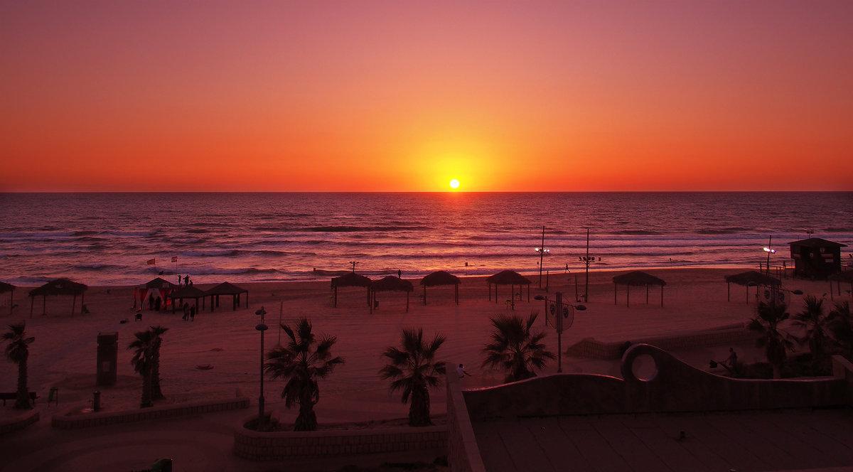 Закат на Средиземном море - Alex Molodetsky