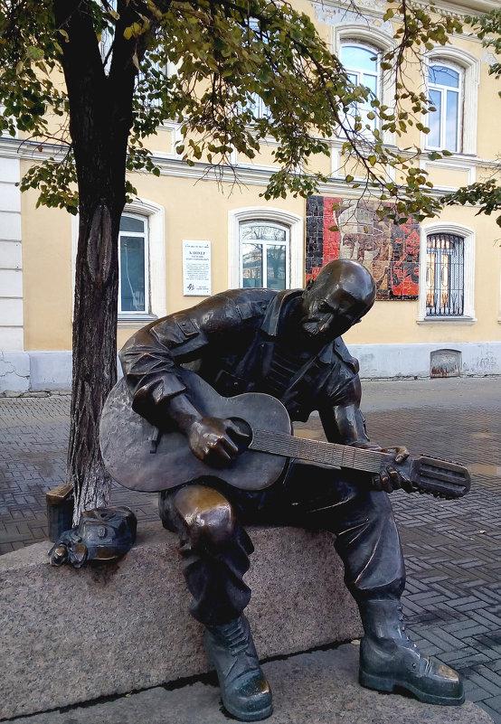 Уличный певец - Марина Шанаурова (Дедова)