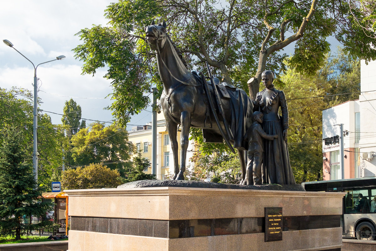 Памятник сынам седого Дона - Александр Гапоненко