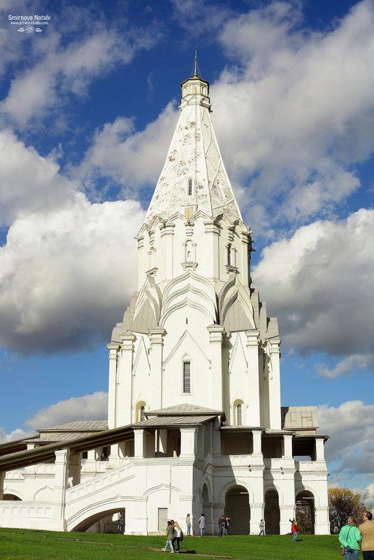 Коломенское, церковь Вознесения - Фотохудожник Наталья Смирнова