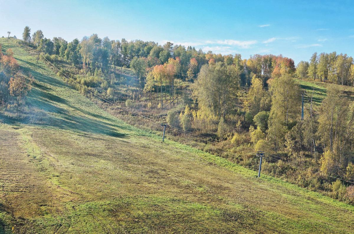 Горнолыжный парк Юрманка - Дмитрий Конев
