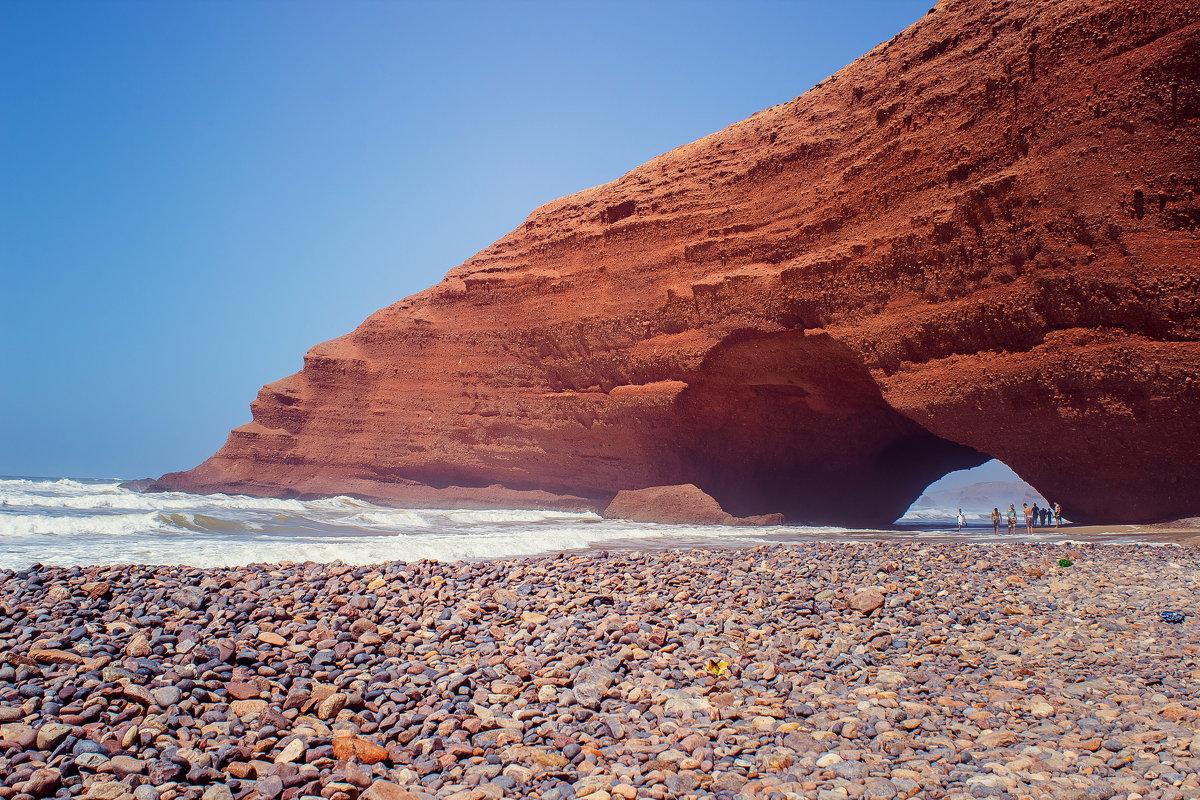 Пляж Легзира. Марокко - Светлана Светленькая