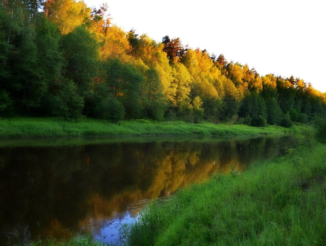 Вечер на реке - Владимир Брагилевский