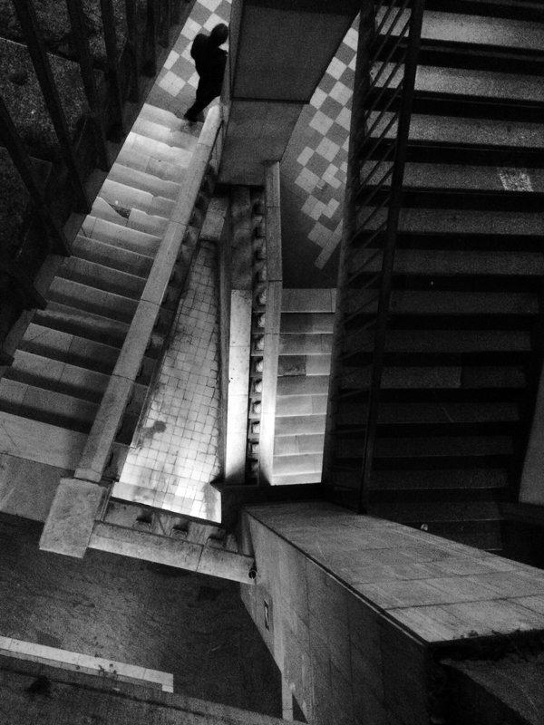 На лестнице - Ирина Бруй