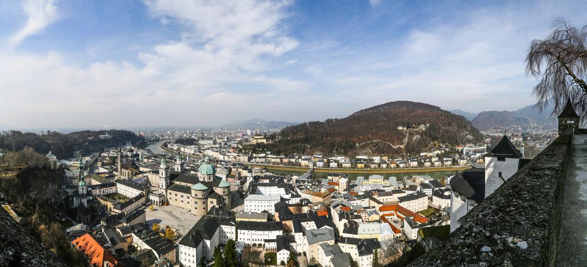 Панорама Зальцбурга - Андрей Данилов