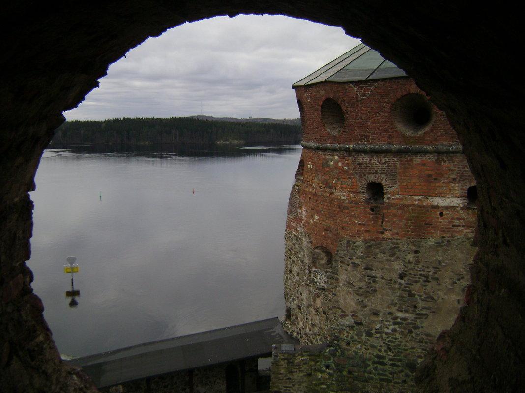 Крепость Олавинлинна, озеро Хаапавеси - Марина Домосилецкая