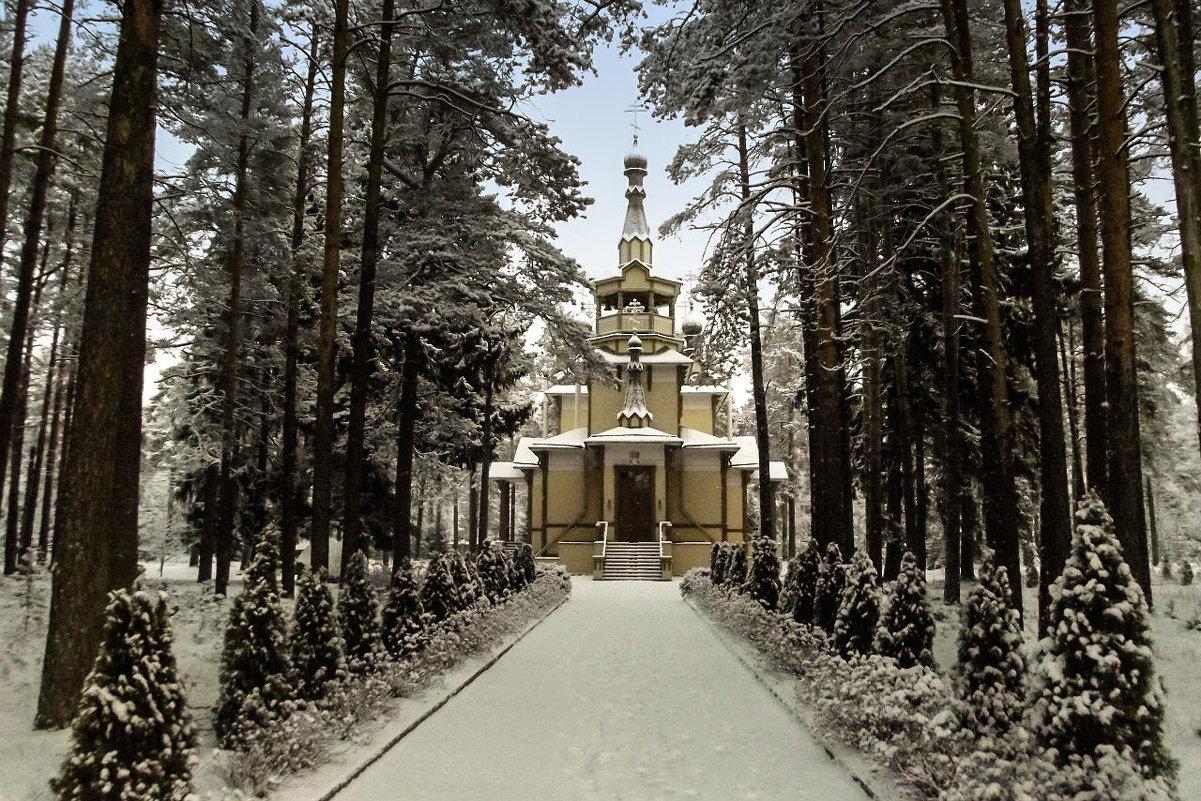 Серафима Саровского церковь. . - Сергей Кочнев