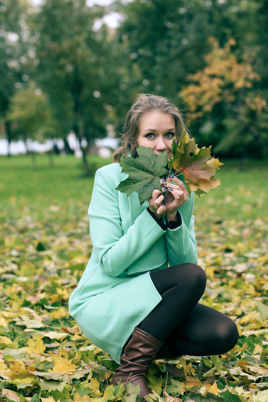 Осенний парк - Андрей