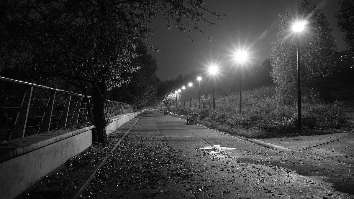 Когда на город спускается ночь - Алексей Соминский
