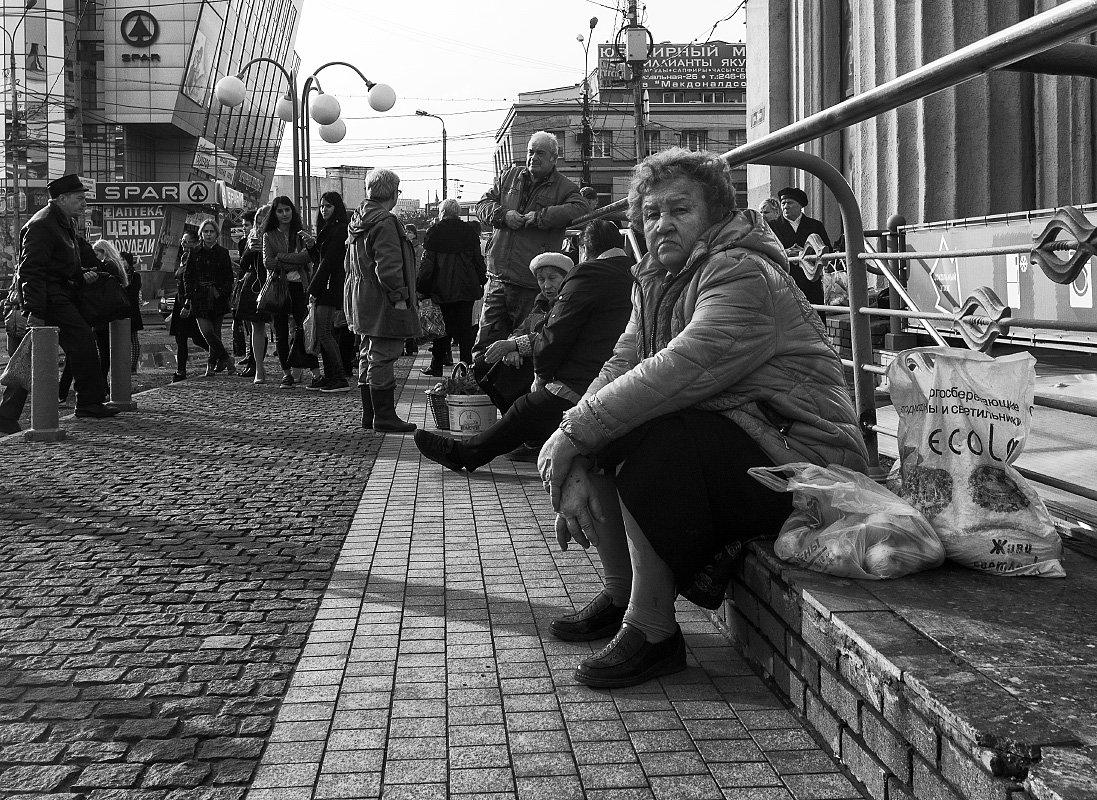 В ожидании транстпорта - Вадим Sidorov-Kassil