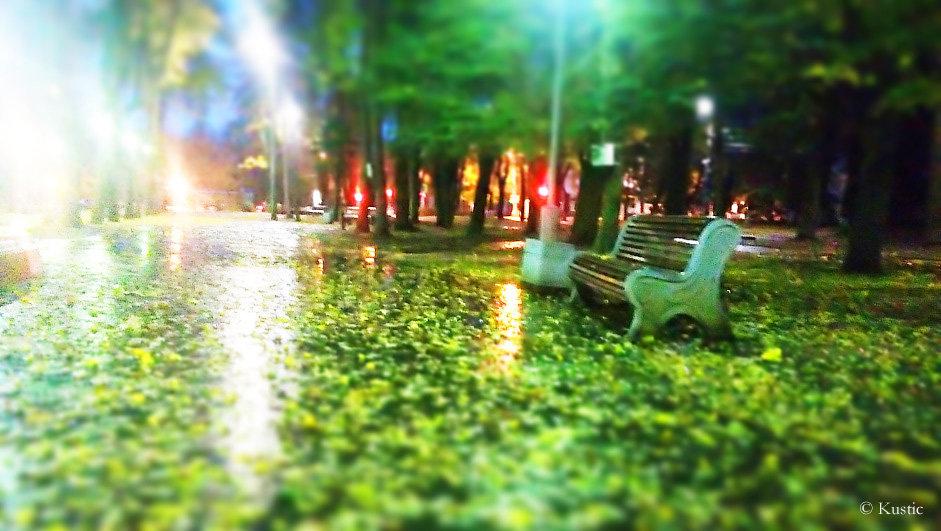 Ранним утром в парке - Валентина Ломакина
