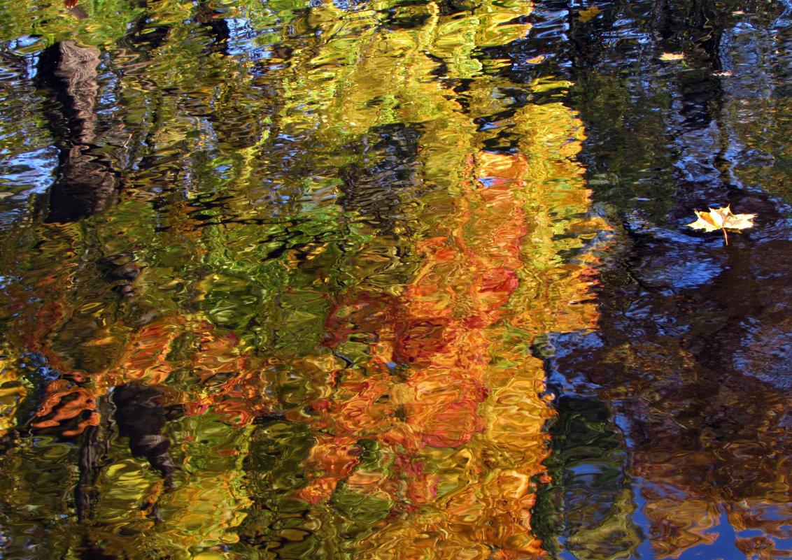 Осенняя аква-мозаика - Ирина Румянцева