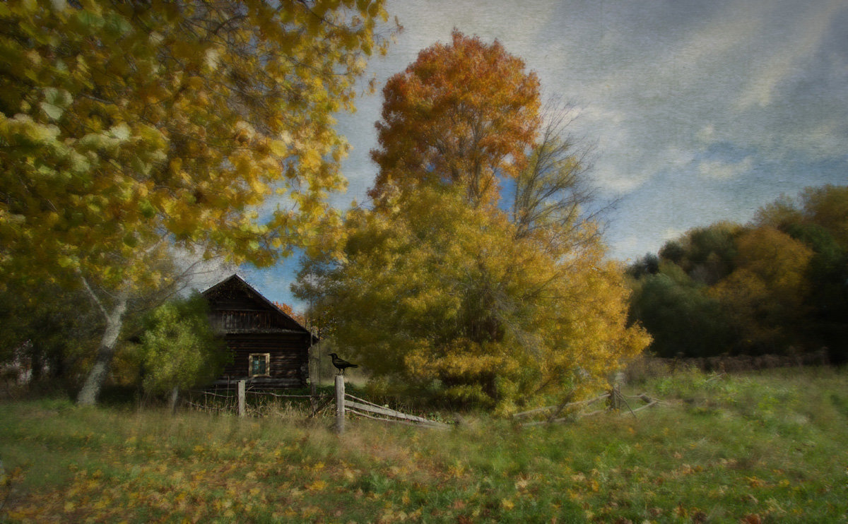 Осенняя зарисовка - Ирина Елагина