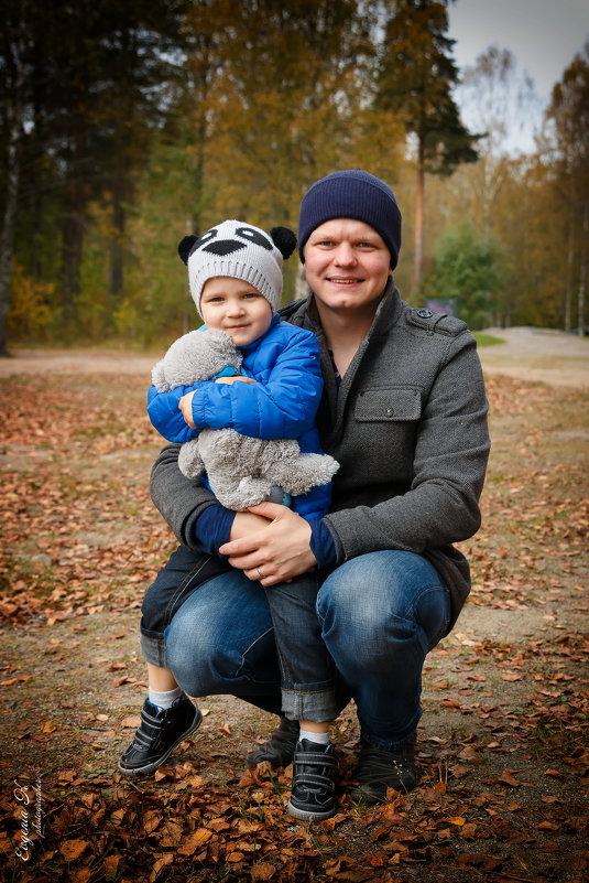Даня и его папа - Евгения К