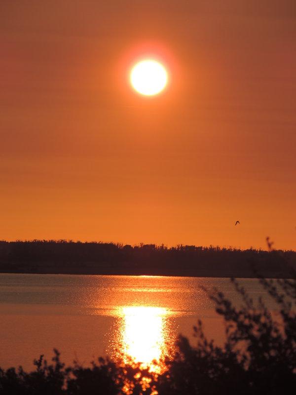 Рассвет над Аслы-Кулем - Александра Домнина