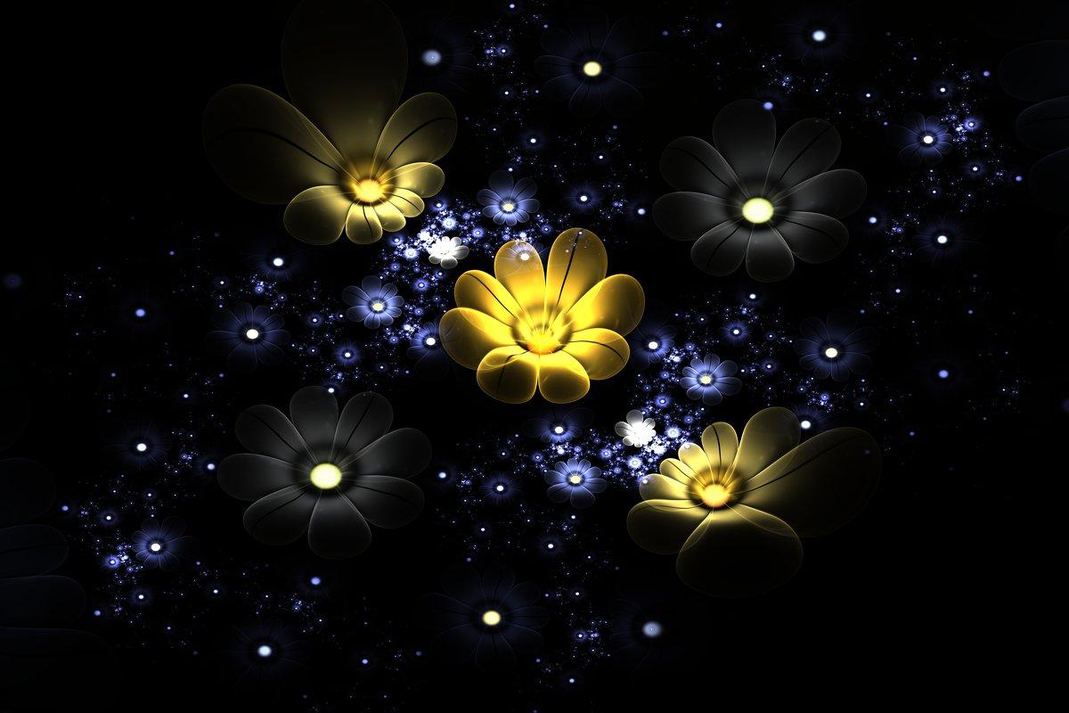 Цветы среди звезд - valery60