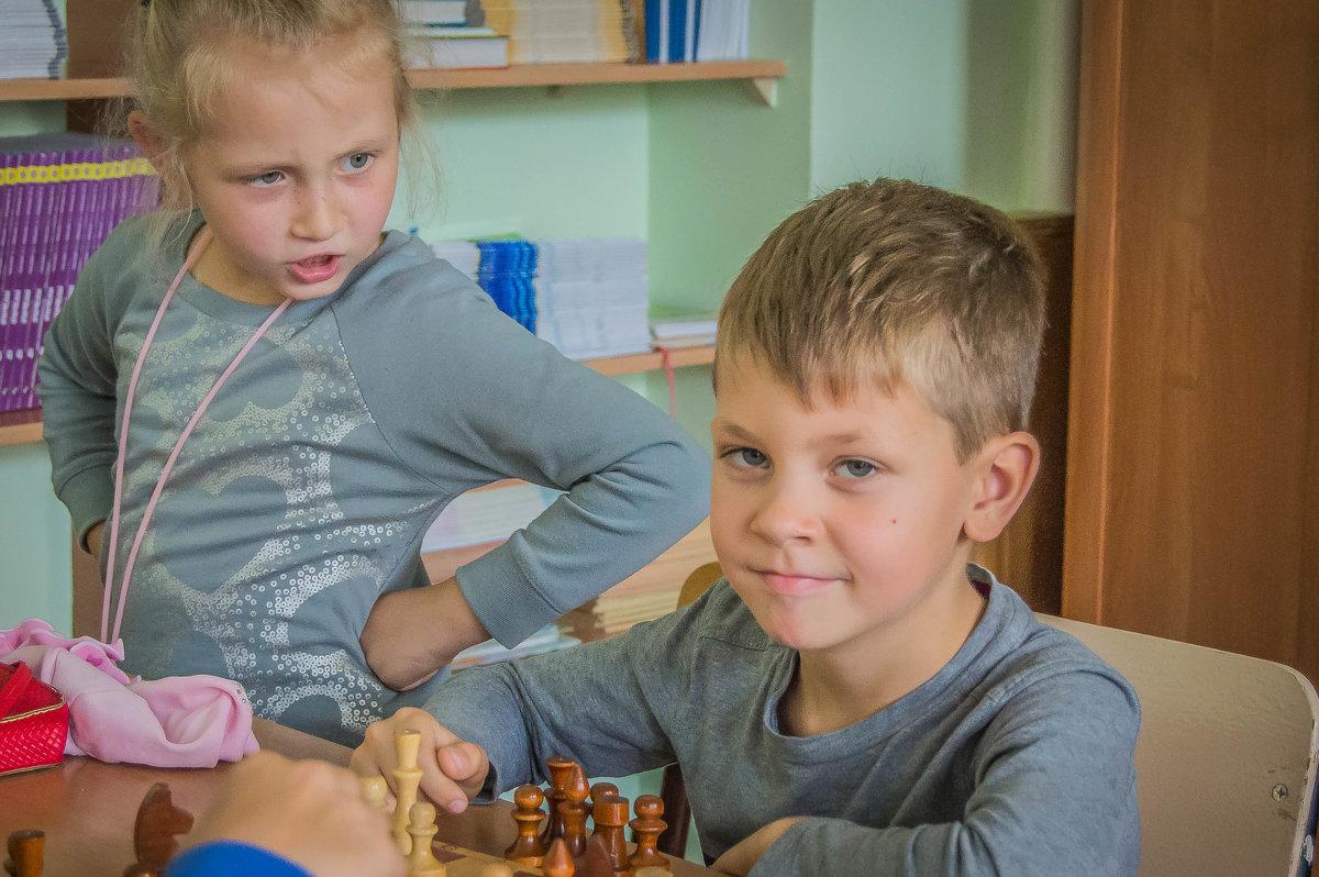 шахматисты - олеся тронько