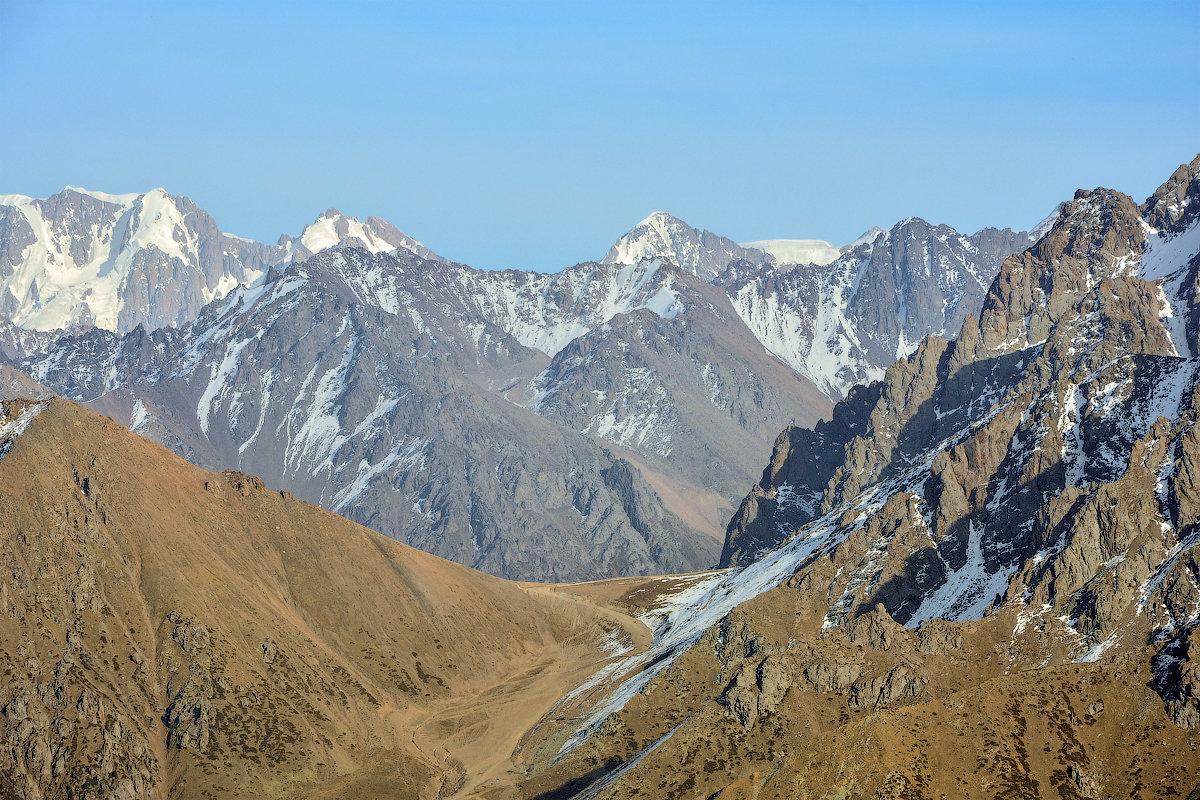 фото Талгарского перевала - Горный турист Иван Иванов