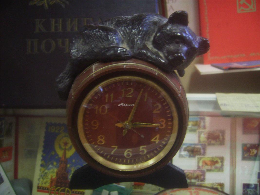 Часы с медведем - Tarka