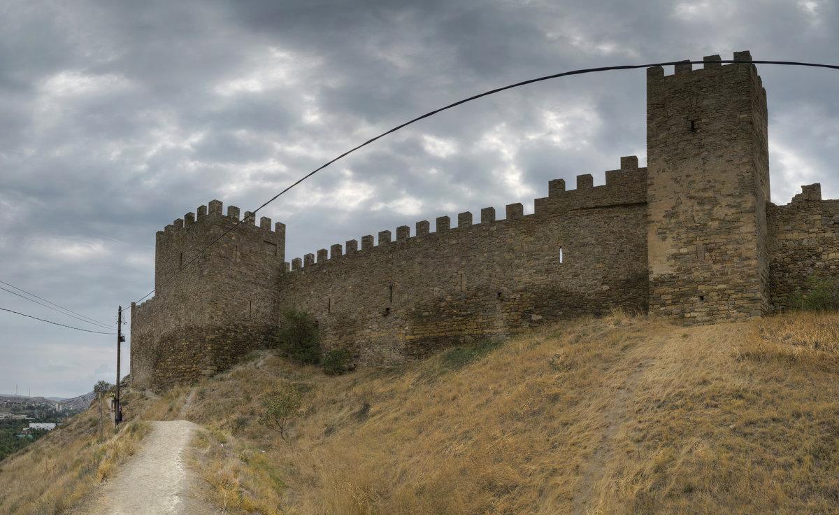 Судакская (Генуэзская) крепость. - Анатолий Щербак